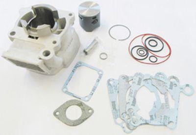 Original Cagiva Mito 125 Zylinder + Aoki 1-Ring Racing Kolben Kit + ZDS + Lager